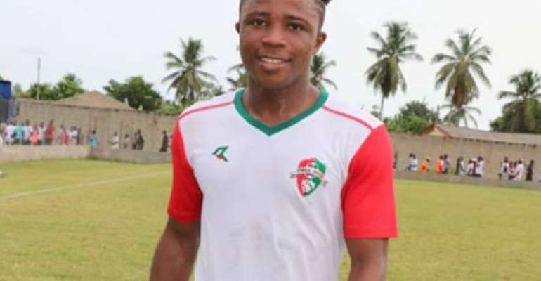 NC Special Cup: Diawisie Taylor Not Upset After Failing To Score Against Kotoko In Tier I Final