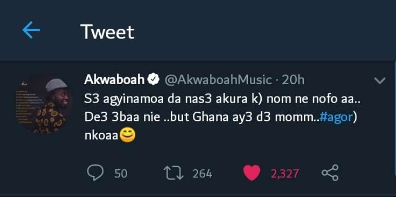 The Battle For Supremacy: Akwaboah Throws Indirect Shade At Medikal, Strongman