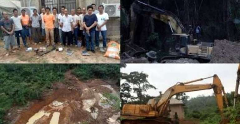 15 Chinese Arrested For Illegal Mining