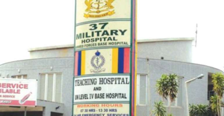 37 Military Hospital looking for families of two patients on admission
