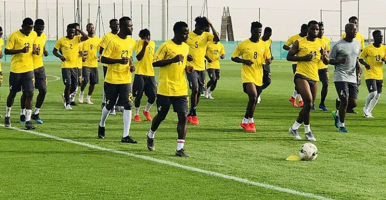 Gov't Extends Support To Black Stars Ahead Of AFCON Opener Today