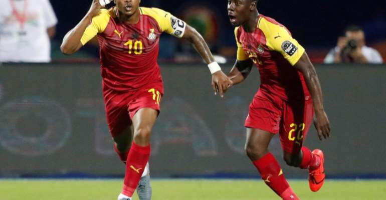 Dede Ayew Now Ghana's All-Time Leading Scorer At AFCON
