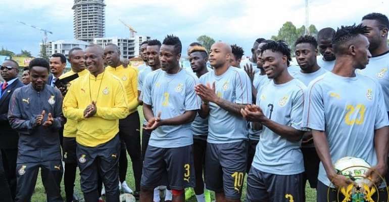 AFCON 2019: Government Sends Goodwill Message To Black Stars Ahead Of Benin Clash