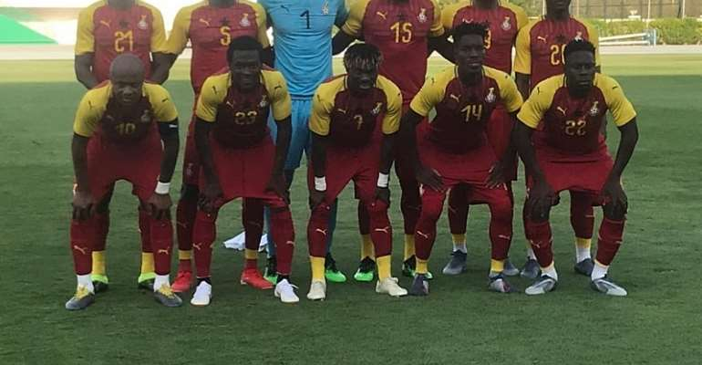 AFCON 2019: Black Stars Starting XI Leaked; Gyan, Asamoah Benched