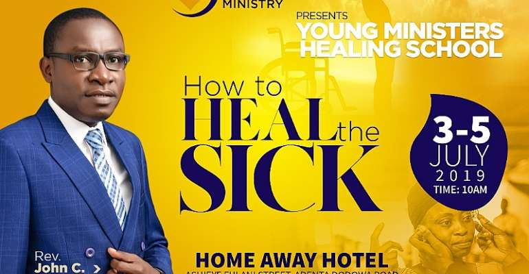 JCA Healing Ministry Holds