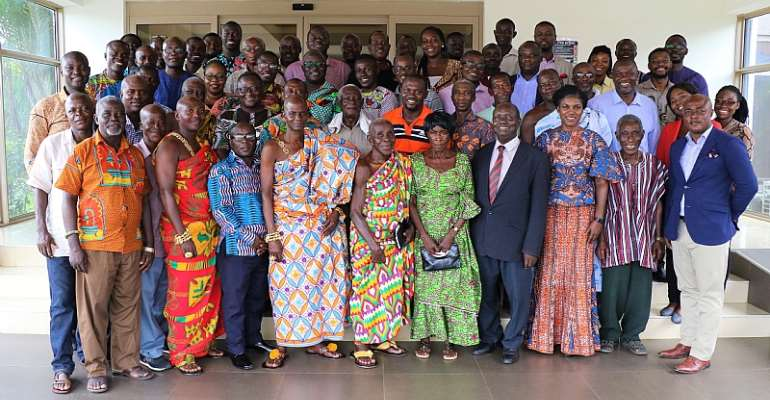 Landmark Stakeholder Consultation On Cocoa Land Tenure And Ownership Security Held