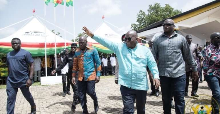 Rearing For Food And Jobs; Akufo-Addo's Masterstroke That Downs Mahama's SADA