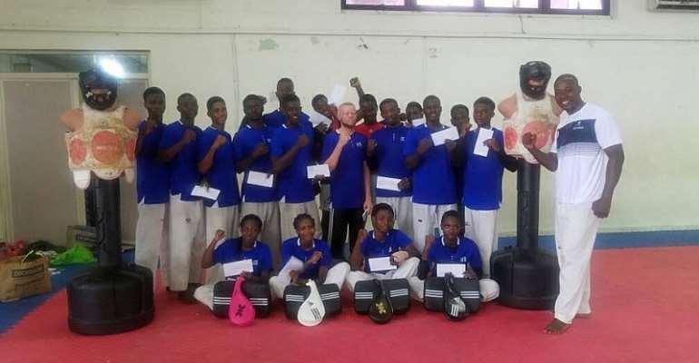 Prismax Taekwondo Academy Presents To National Taekwondo Team