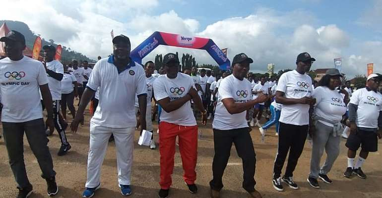 GOC Grateful To Toyota Ghana, Twellium And Indomie For Supporting 2019 Olympic Day Activities
