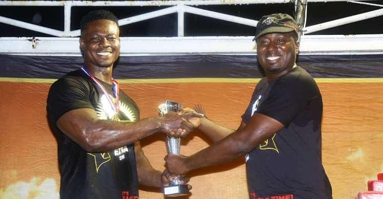 Derrick Kwakye 'Asoka' Wins Eagle Extra Stout's Ashanti Challenge Armwrestling