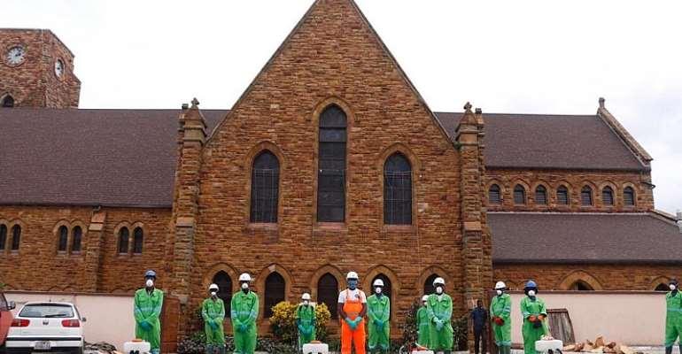 Nationwide Disinfection: Methodist Church Praises Zoomlion