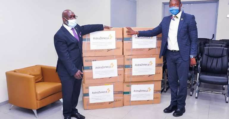 COVID -19 Fight: Ministry Of Health Receives 35,000 Surgical Masks From AstraZeneca
