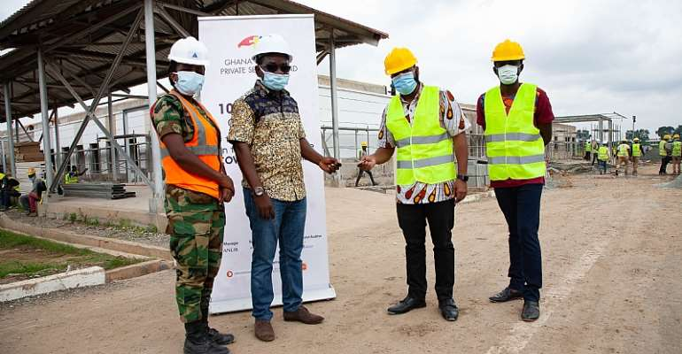 Mohinani Group Donates GHC150,000 To Ghana Covid-19 Private Sector Fund