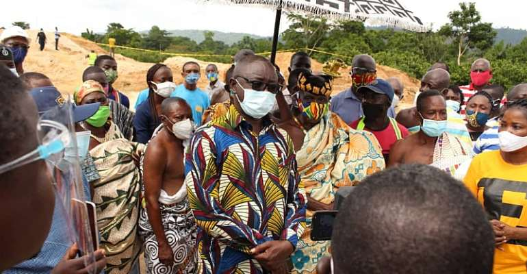 Obuasi East District Starts Community Mining