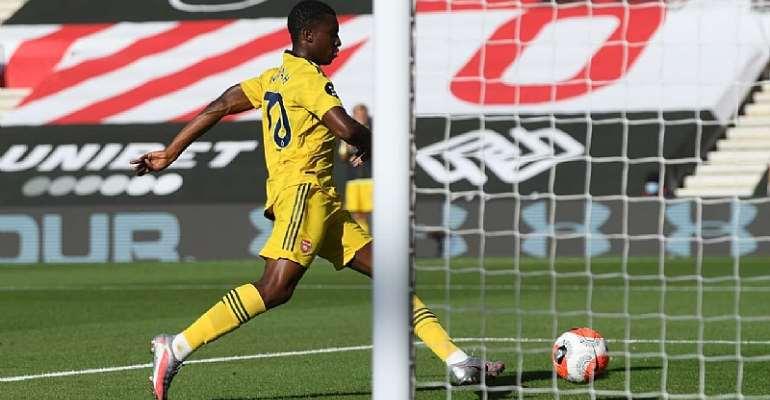 Eddie Nketia On Target As Arsenal Win 2-0 Against Southampton