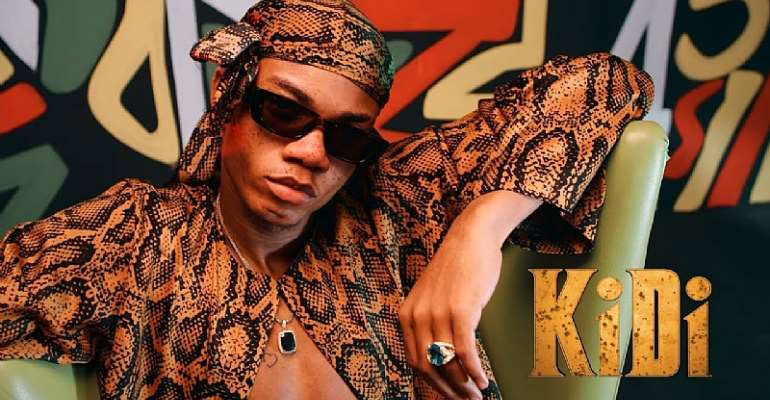 All you need to know about KiDi's 14 track 'Golden Boy' Album
