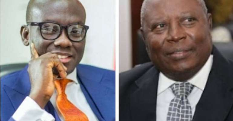 'Very old Amidu 'supposedly experienced' yet survived for only 11 months as AG – Godfred Dame