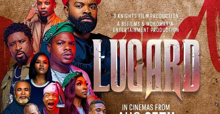 'Lugard' Featuring, Gabriel Afolayan, Mr Macaroni, Kehinde Joseph Releases Official Movie Poster