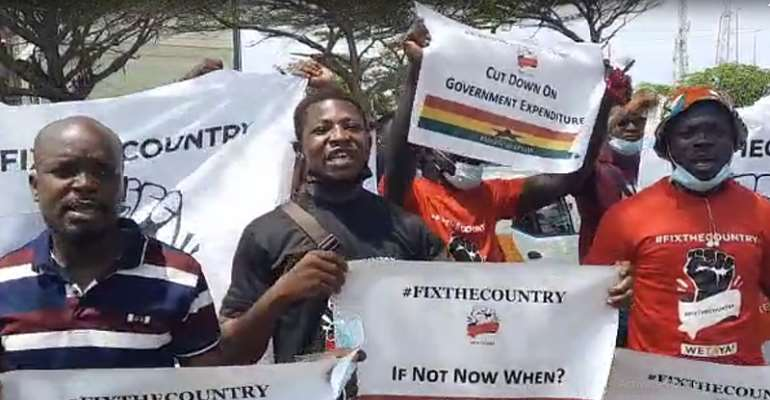 Use laid down processes to organise demo – Court to #FixTheCountry conveners