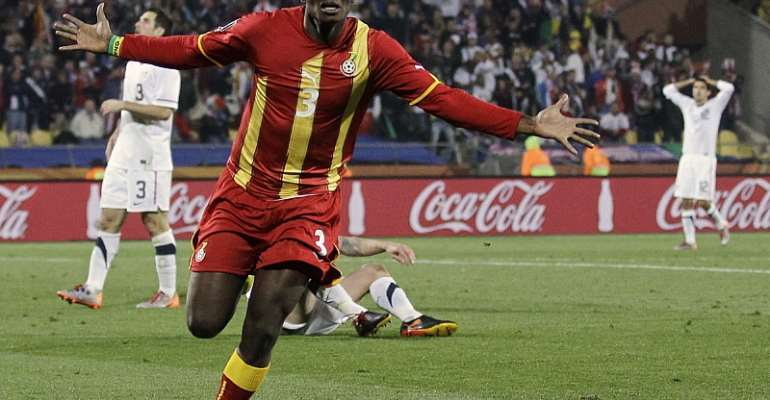 TODAY IN FOOTBALL HISTORY: Black Stars Whipped USA 2:1 To Qualify For Quarter Finals In South Africa