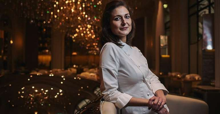 No surprise, but  the world's top pastry chef is France's Jessica Préalpato