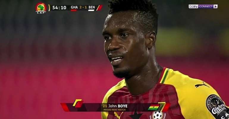 AFCON 2019: John Boye Sets New AFCON Record
