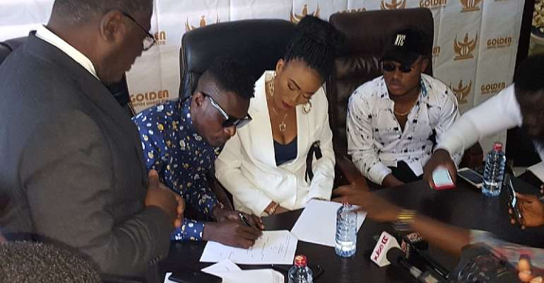 Househelp Turns Music Manager, Certified Gold Dealer Clears Her Name