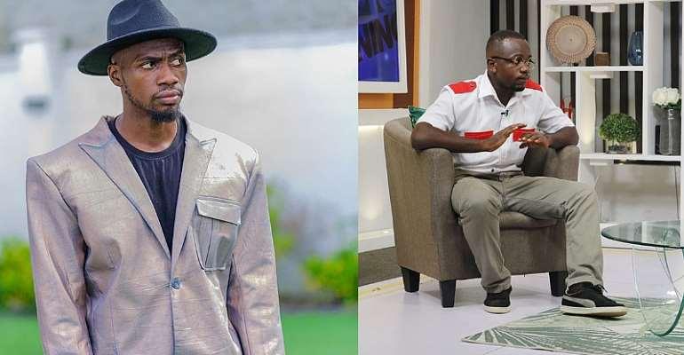 I started #DontLeaveMeChallenge, yours was nonfa - Nigeria's Josh2Funny tells Ghana's Ajeezay live on TV