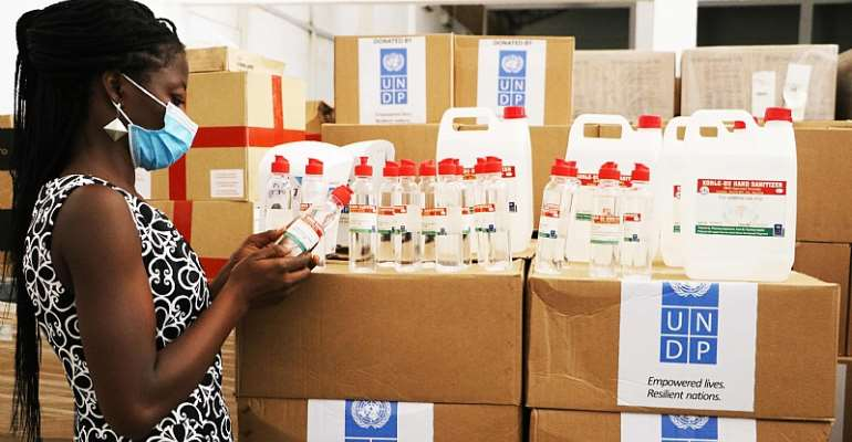 COVID-19 Fight: UNDP Supports Local Production Of Hand Sanitizers