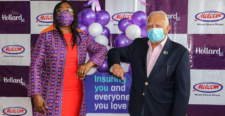 Hollard Ghana Partners Melcom To Widen Insurance Penetration In Ghana