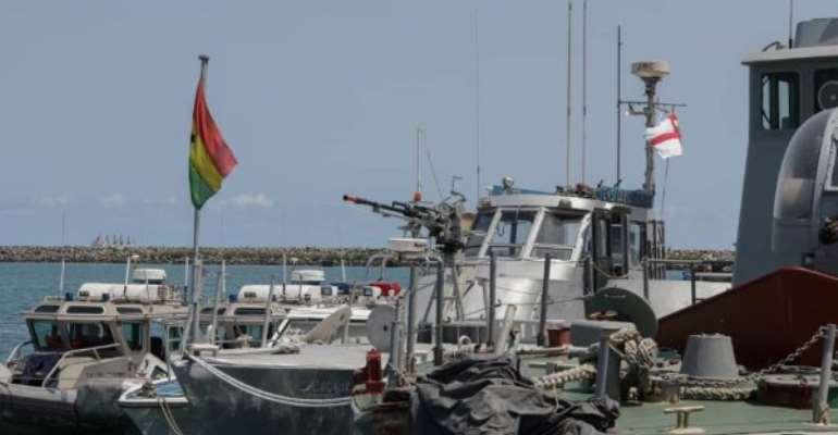 Hijacked Ghana Flagged Vessel Docks At Tema Port