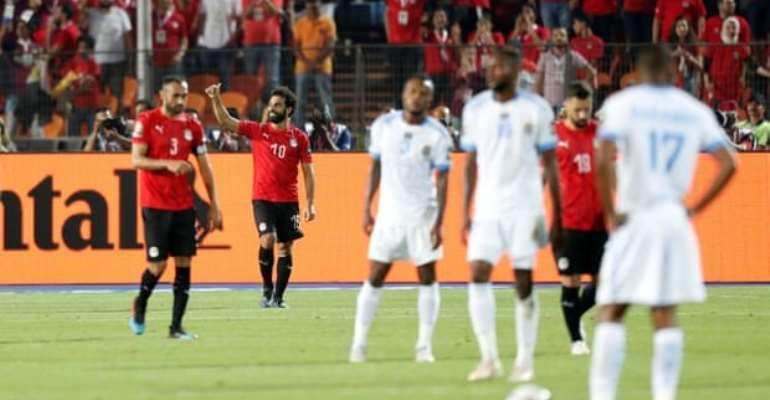 AFCON 2019: Salah Scores As Egypt Move Into Last 16
