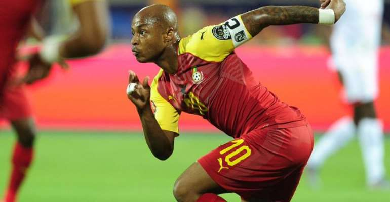 AFCON 2019: Andre Ayew, Thomas Agyepong Miss Black Stars Recovery Training