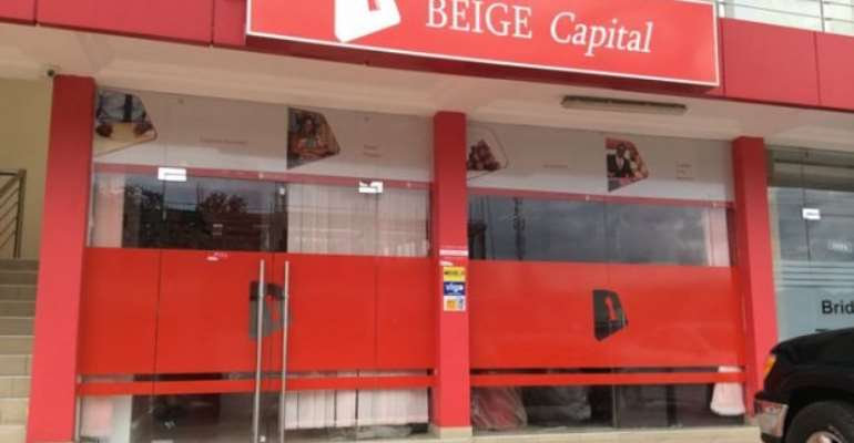 Beige Bank's license was revoked by the Bank of Ghana