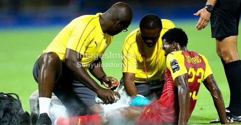 AFCON 2019: Thomas Agyepong Out Of Cameroon Encounter