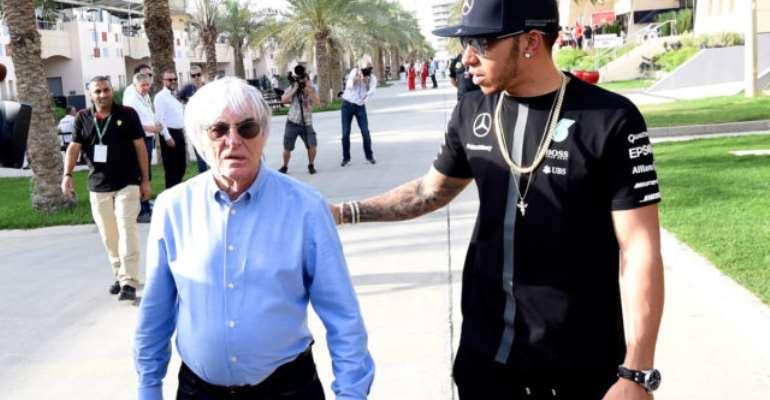 Lewis Hamilton Condemns Ecclestone's 'Ignorant' Racism Comments