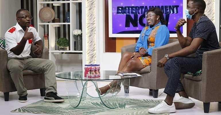 Ajeezay, speaking to Jay Foley and Emefa Adeti