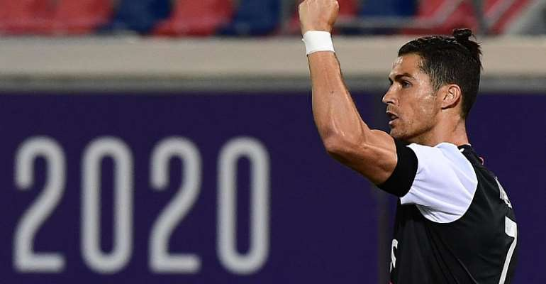 Ronaldo on target as Juventus go seven points clear in Serie A