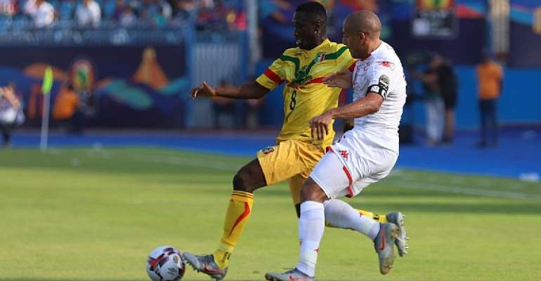 AFCON 2019: Tunisia 1-1 Mali – Nothing To Separate Eagles In Suez