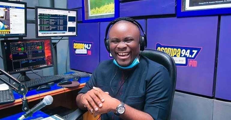 Ekosiisen Host Philip Osei Bonsu Appointed Asempa FM Programs Manager