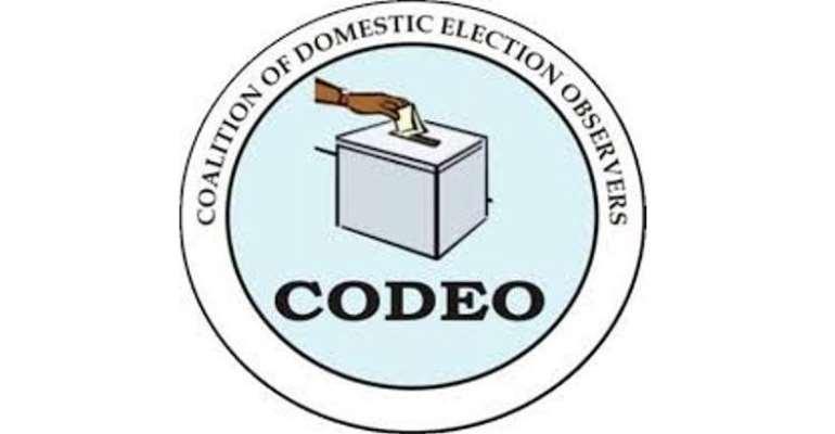 CODEO Deploys 100 Observers For Voter Registration Centres