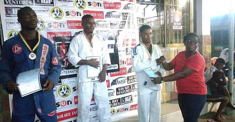 Ghana Open Grappling tournament held in Accra