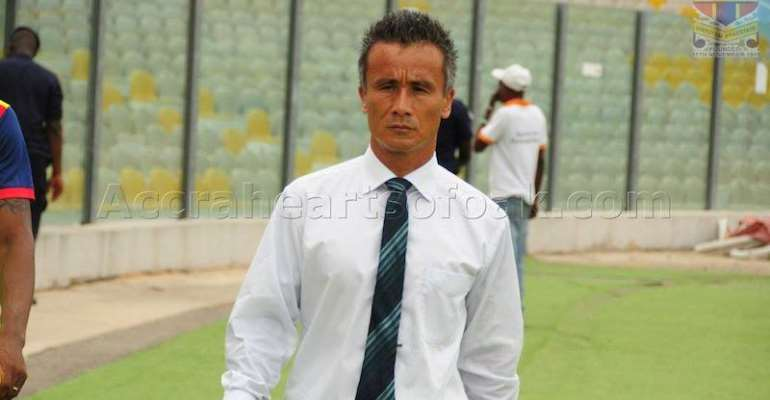 FORMER HEARTS OF OAK TRAINER KENICHI YATSUHASHI