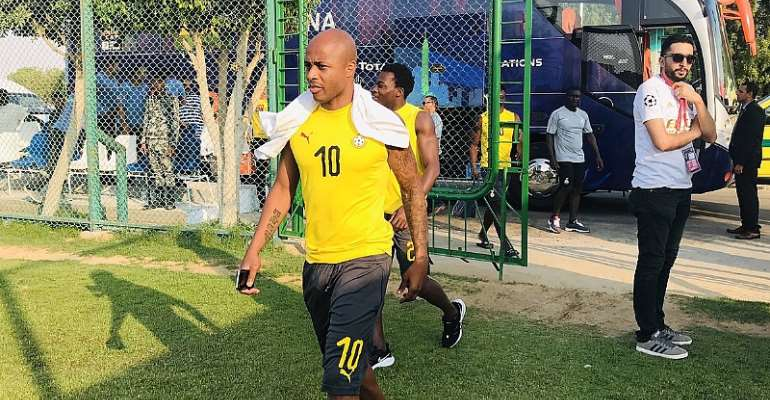 AFCON 2019: Dede Ayew In Line To Feature For Ghana Against Cameroon Today