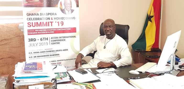 Ghana Homecoming 2019: Diaspora Summit Aimed At Boosting The Economy — Awua-Ababio