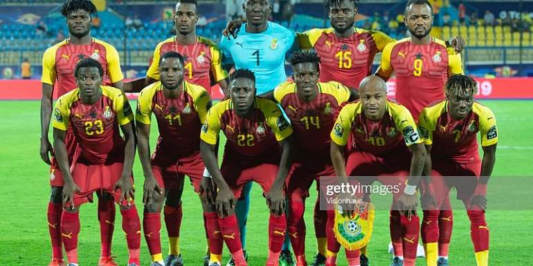 AFCON 2019: Coach Kwesi Appiah Name Strong Starting XI To Face Cameroon