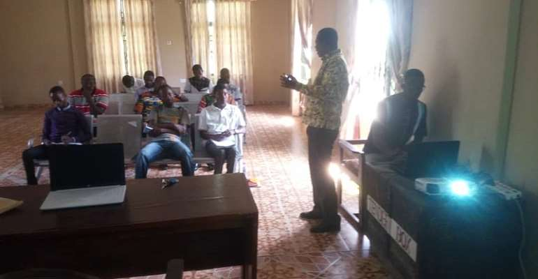 Tain Nadmo Officers Receives Trainning In Disaster Management And Prevention
