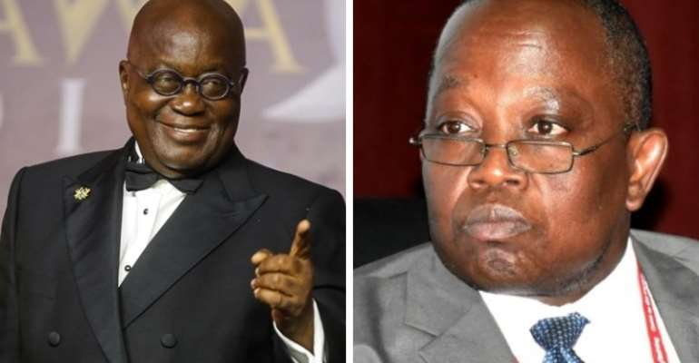 Ghanaians React After Akufo Addo Directed The Auditor General To Go On Leave For 123 Days
