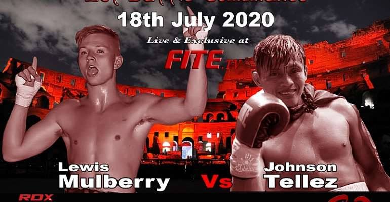 Boxing: Mulberry vs Tellez Added to Harrison vs Peers Undercard 18th July - Exclusively Live on FITE.TV.