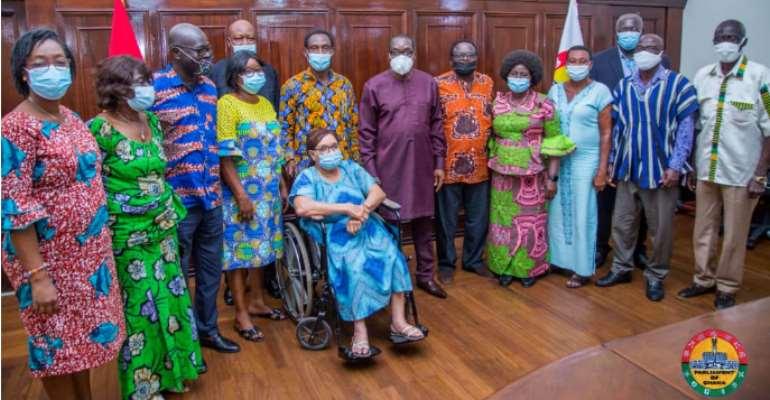 Ex-Parliamentary staff call on Bagbin